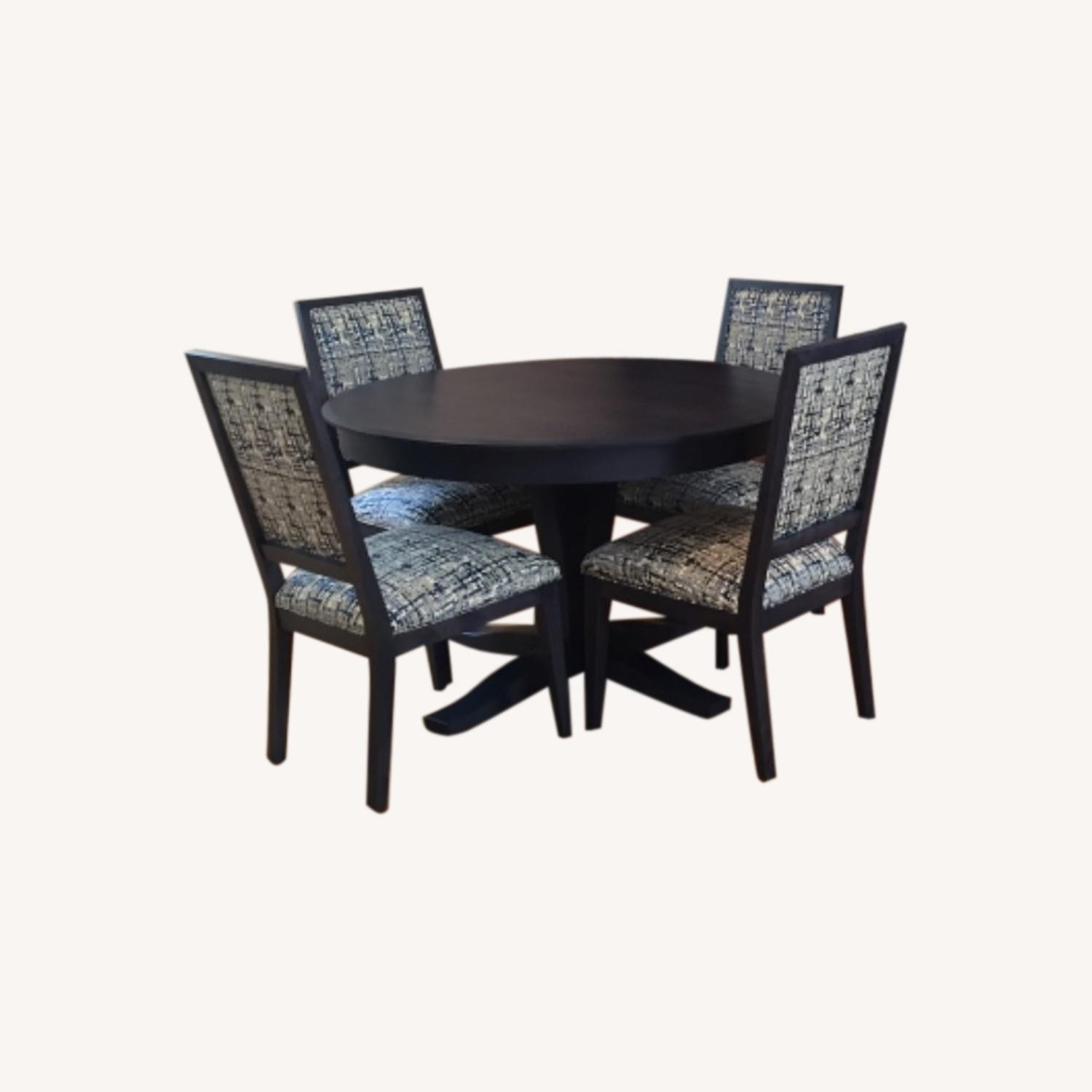 Navy Candel Dining Table and Chairs - image-0