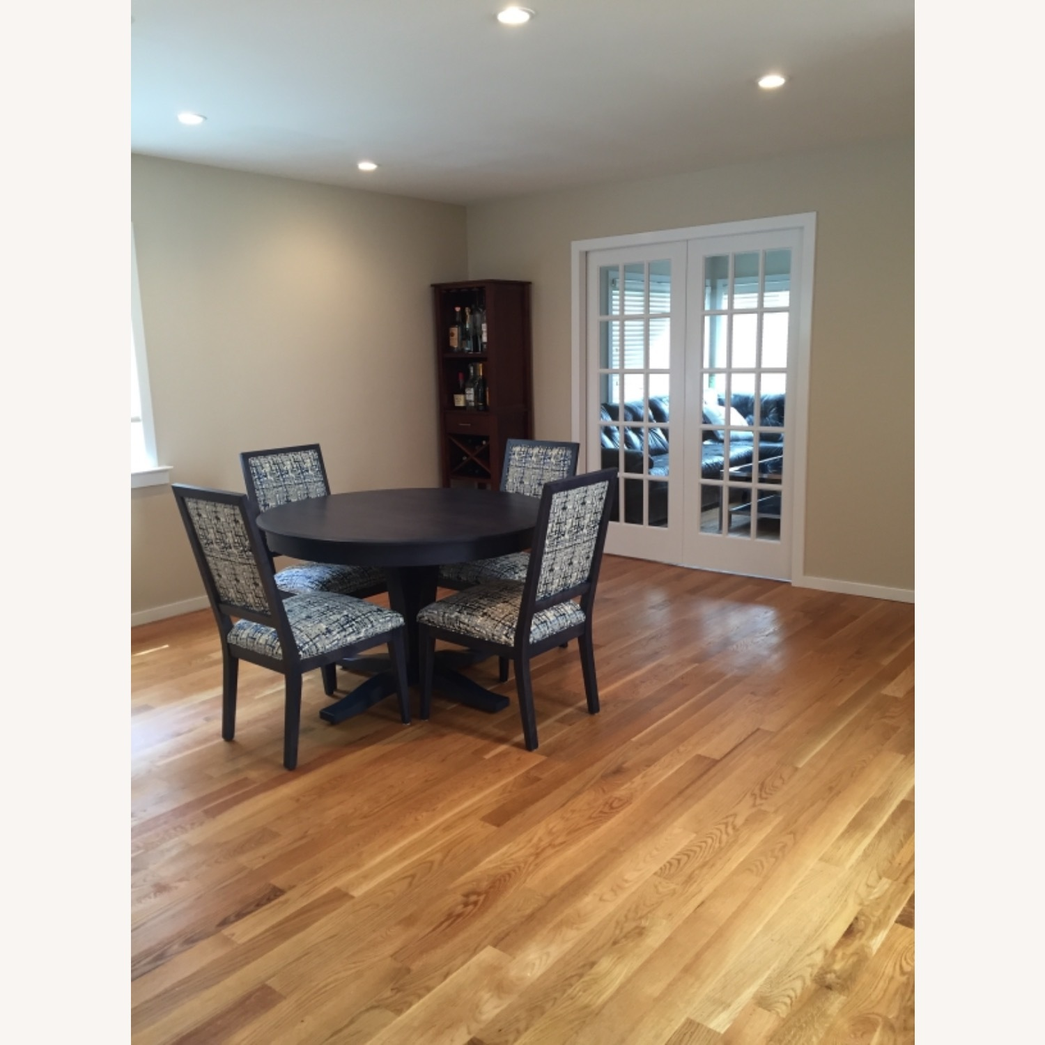 Navy Candel Dining Table and Chairs - image-2