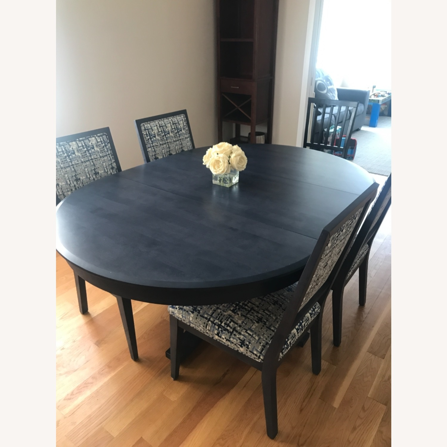 Navy Candel Dining Table and Chairs - image-3