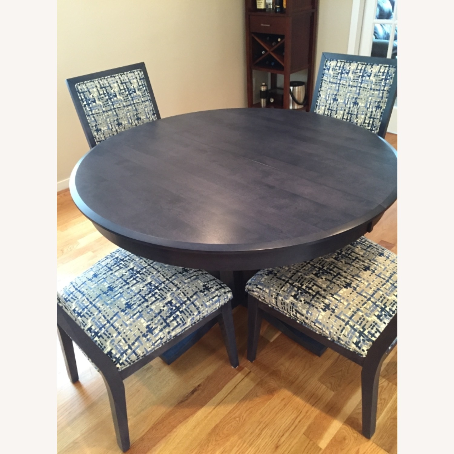 Navy Candel Dining Table and Chairs - image-1