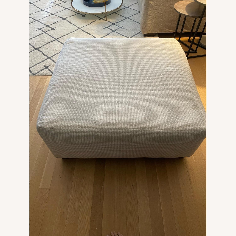 Bob's Discount Furniture Cottage Chic Ottoman - image-3