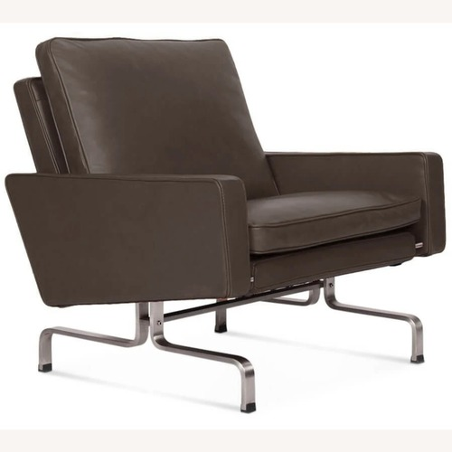 Used PK31 Leather Armchairs for sale on AptDeco