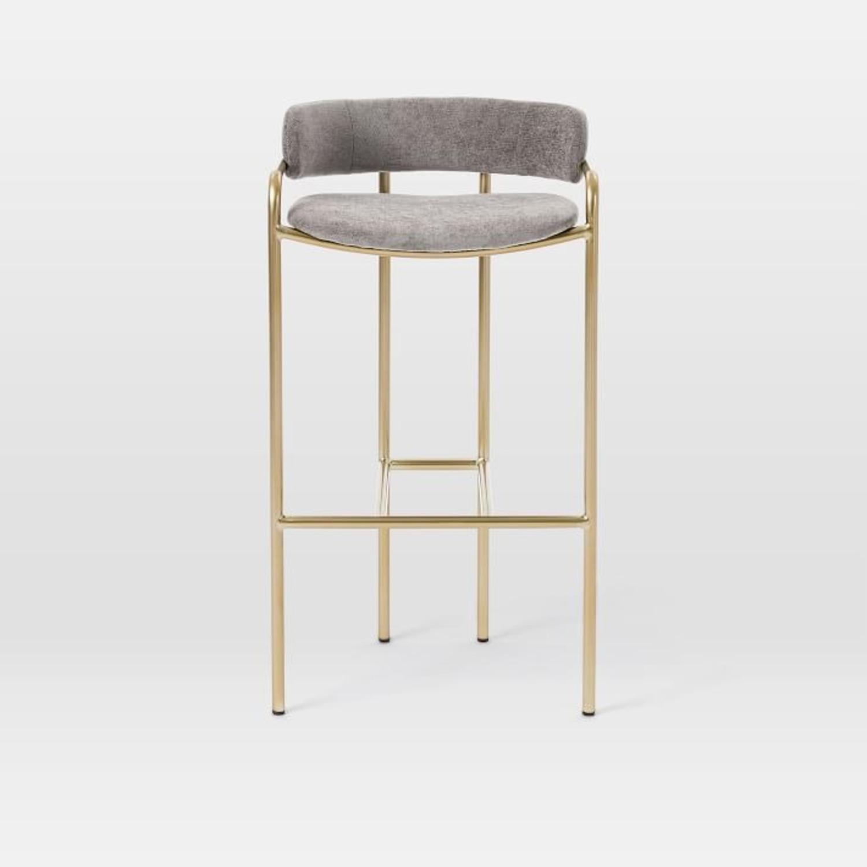 West Elm Lenox Upholstered Counter Stool - image-3
