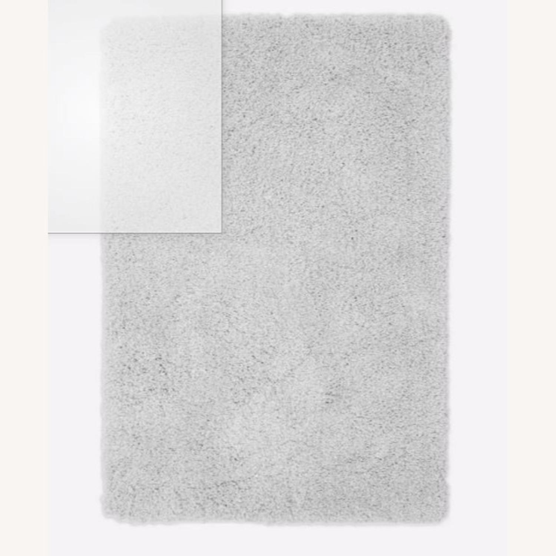 West Elm Frost Gray Plush Rug - image-1