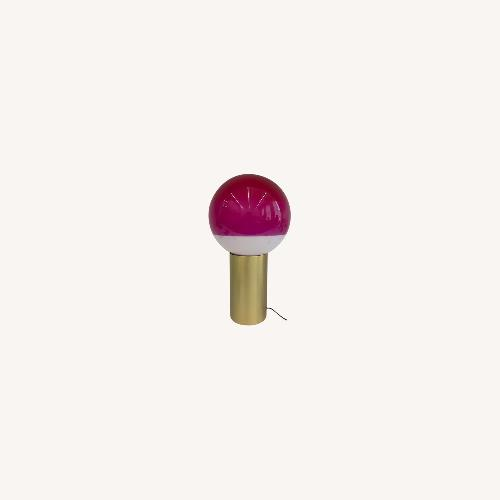 Used Dipping Light - Pink, Brushed Brass (Set of 2) for sale on AptDeco