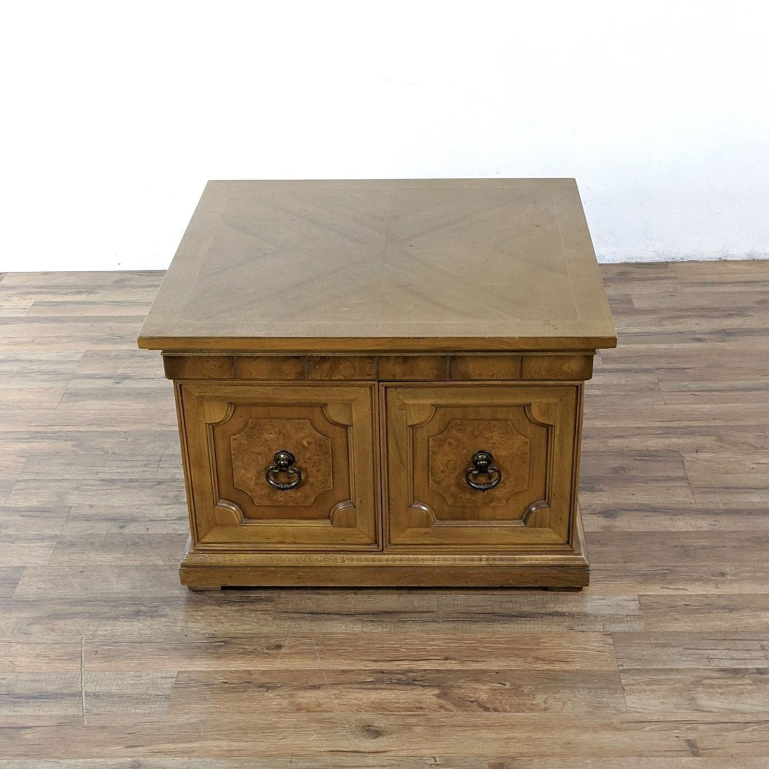 Pair of Vintage Wooden End Tables - image-3
