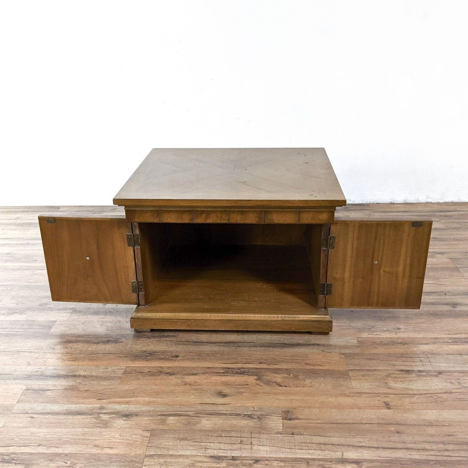 Pair of Vintage Wooden End Tables - image-2
