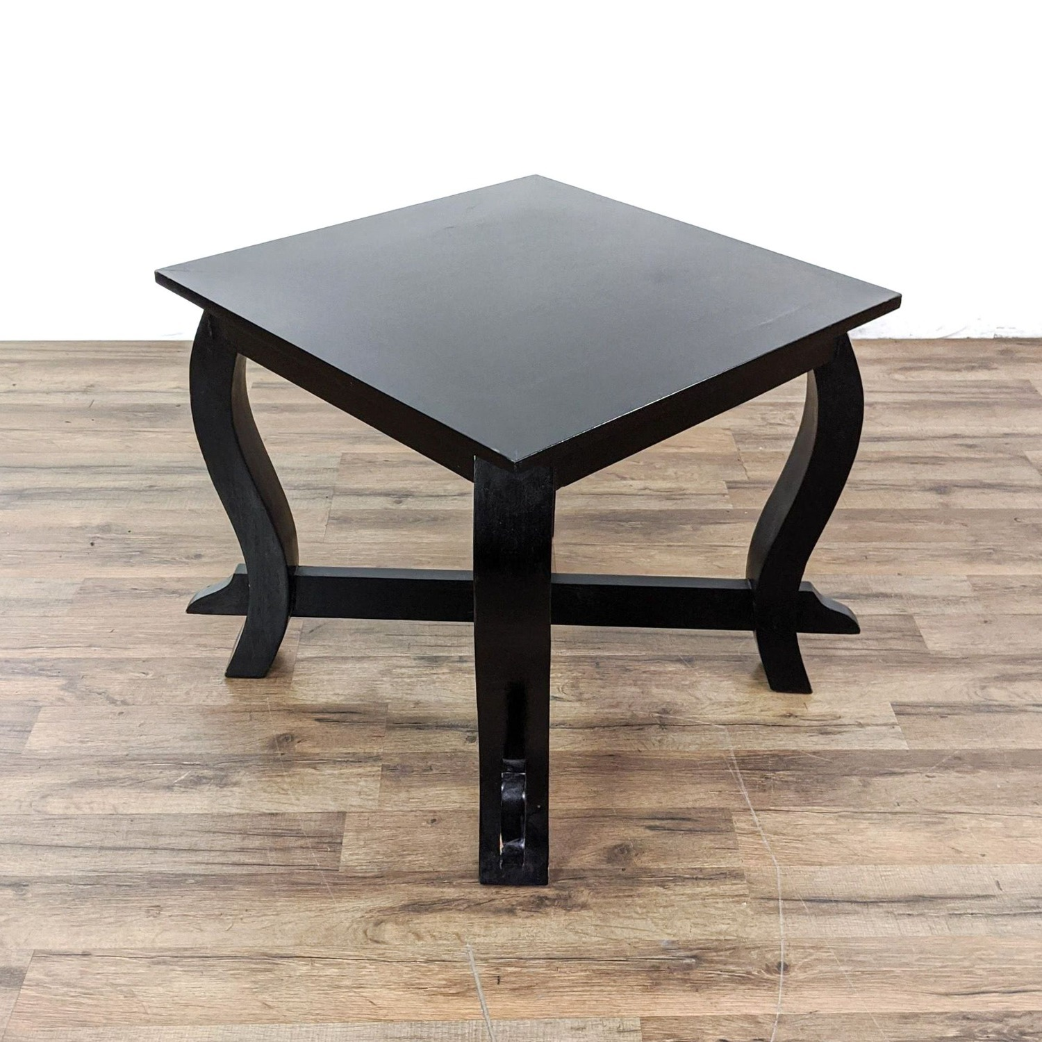 Pair of Wooden End Tables - image-1