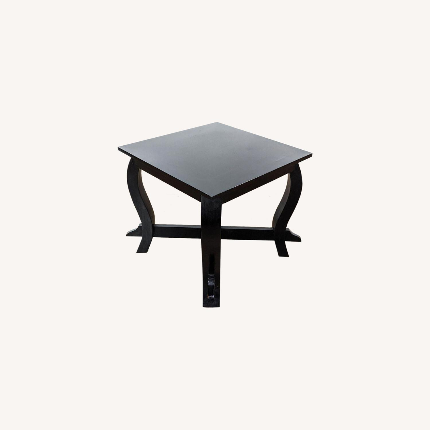 Pair of Wooden End Tables - image-0
