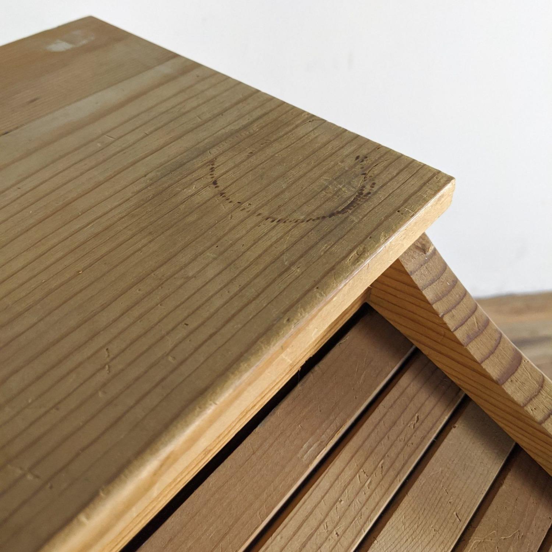 Pine Roll Top Desk - image-3