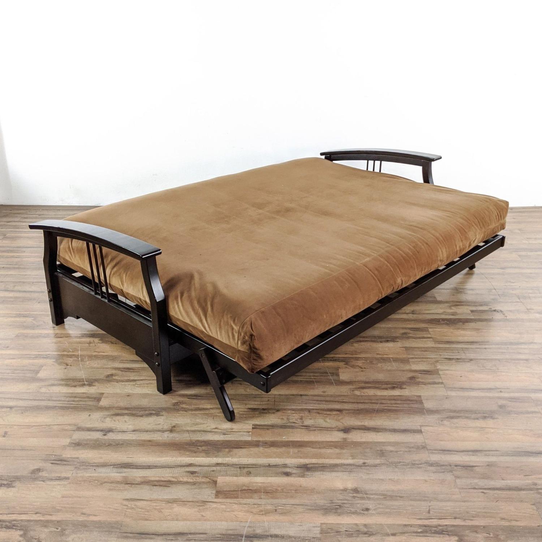 Queen Sized Futon Sofa - image-5