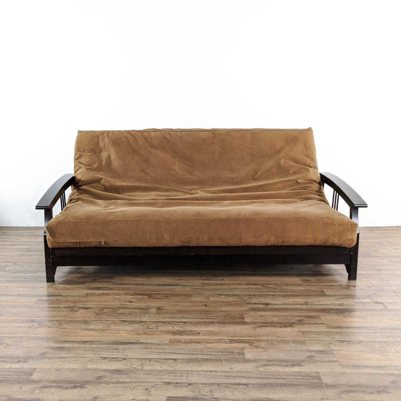 Queen Sized Futon Sofa - image-1