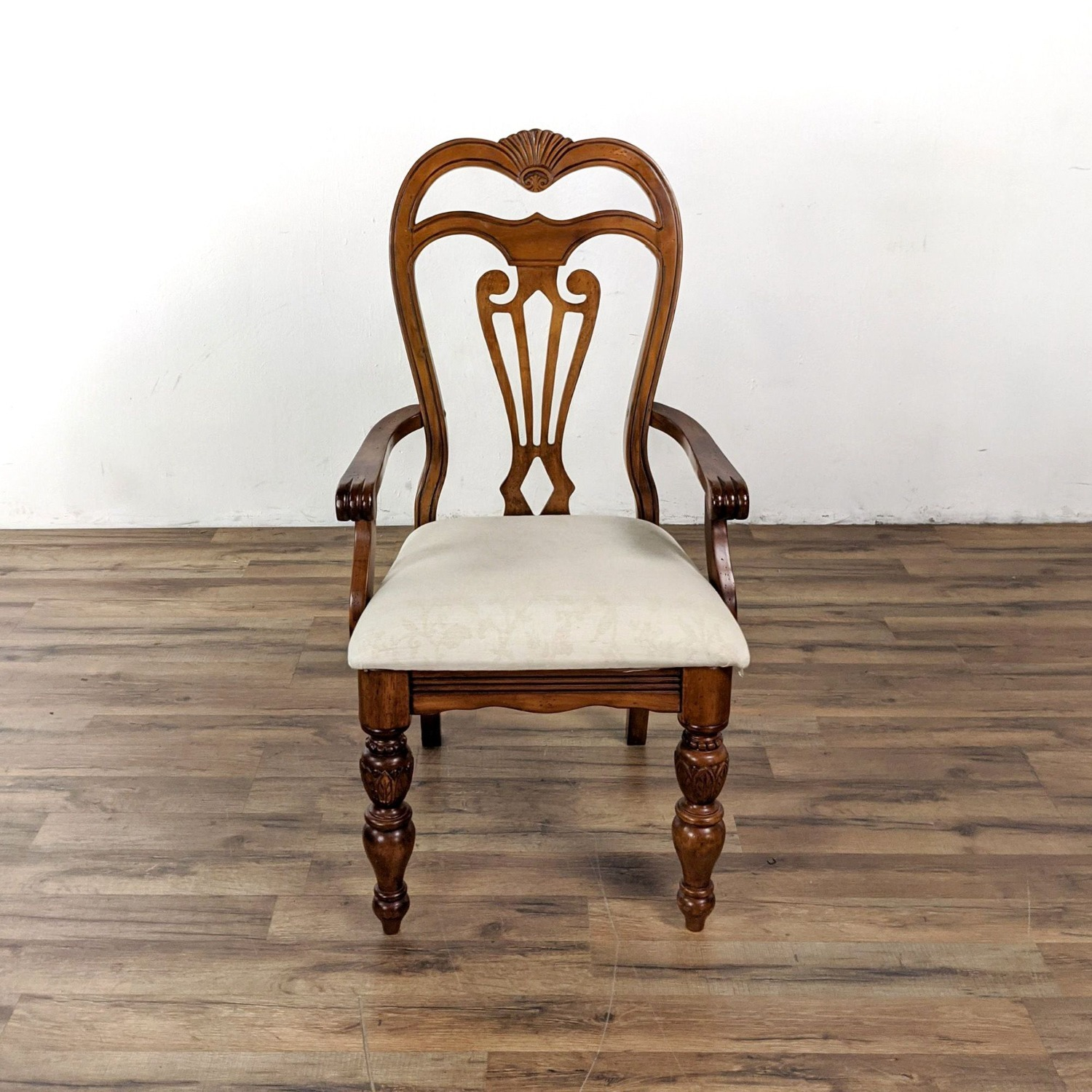 Set of 6 Wooden Dining Chairs - image-4