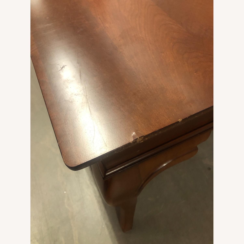 Vintage Wood Executive Desk - image-5