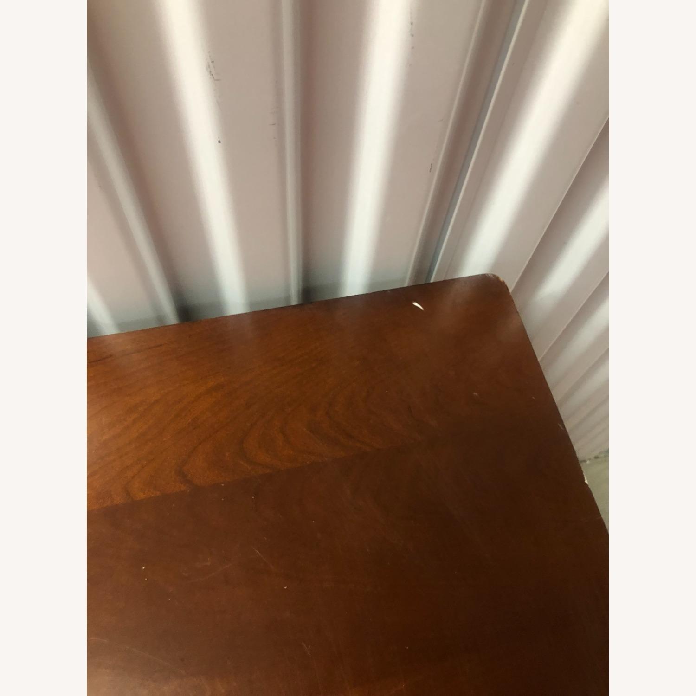Vintage Wood Executive Desk - image-7