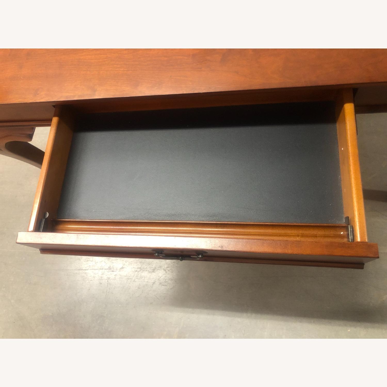 Vintage Wood Executive Desk - image-2