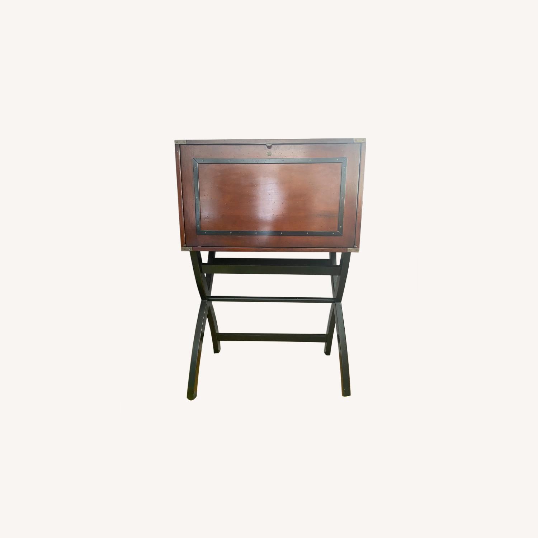 Authentic Models Campaign Cabinet Desk - image-0