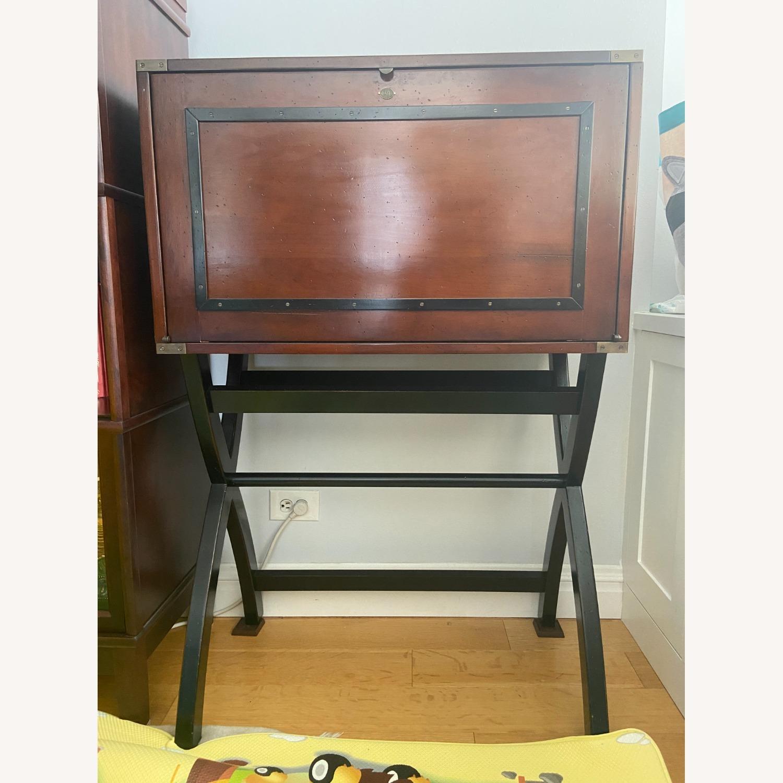 Authentic Models Campaign Cabinet Desk - image-1
