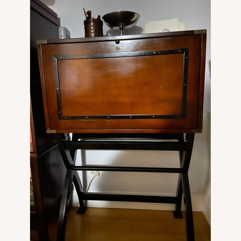 Authentic Models Campaign Cabinet Desk - image-3