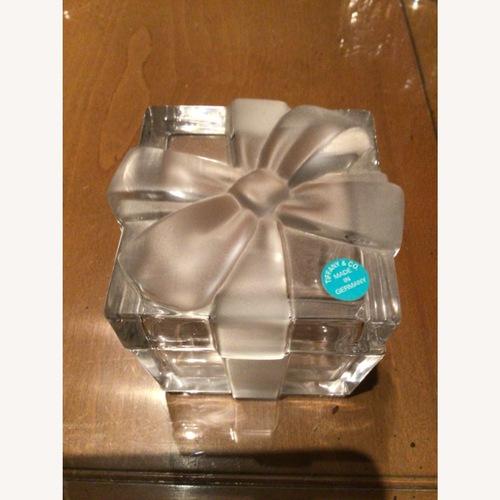 Used Tiffany &Co. vintage crystal gift box for sale on AptDeco