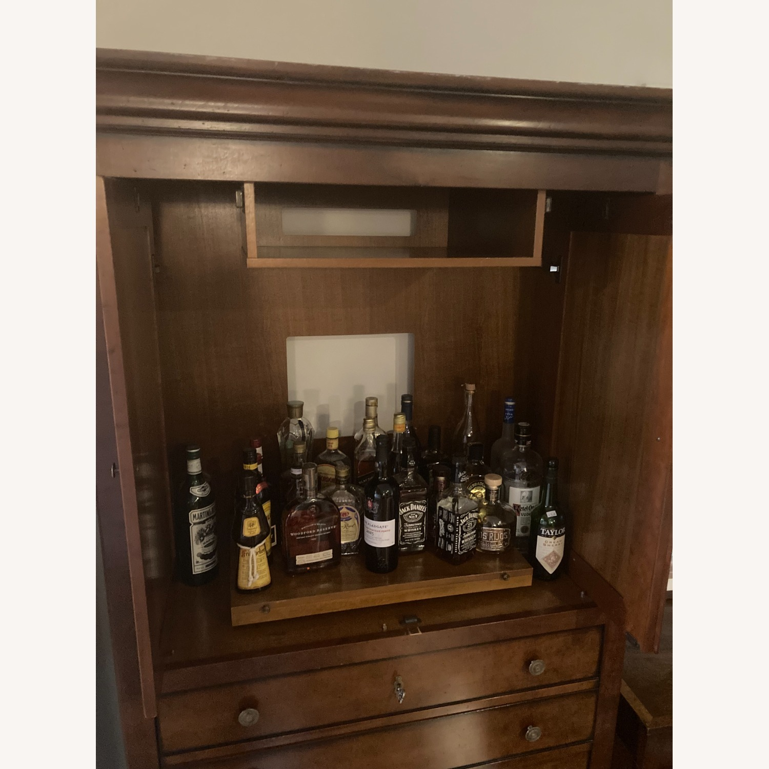 Solid Wood Armoire - image-2