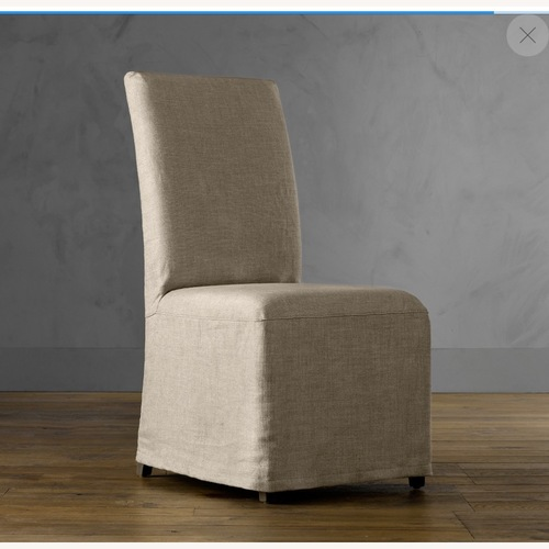 Used Hudson Parsons Slipcovered Chair for sale on AptDeco