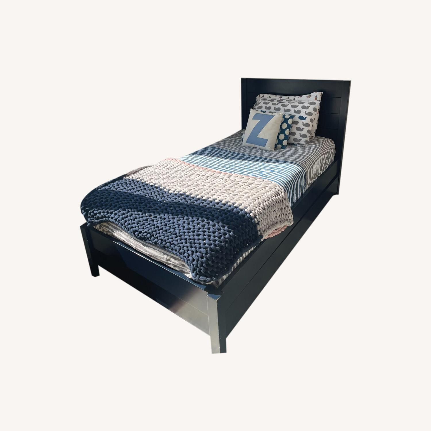 The Land of Nod/Crate Twin Bed + Trundle - image-0