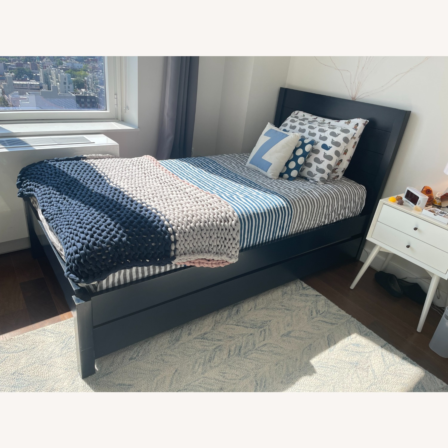 The Land of Nod/Crate Twin Bed + Trundle - image-2