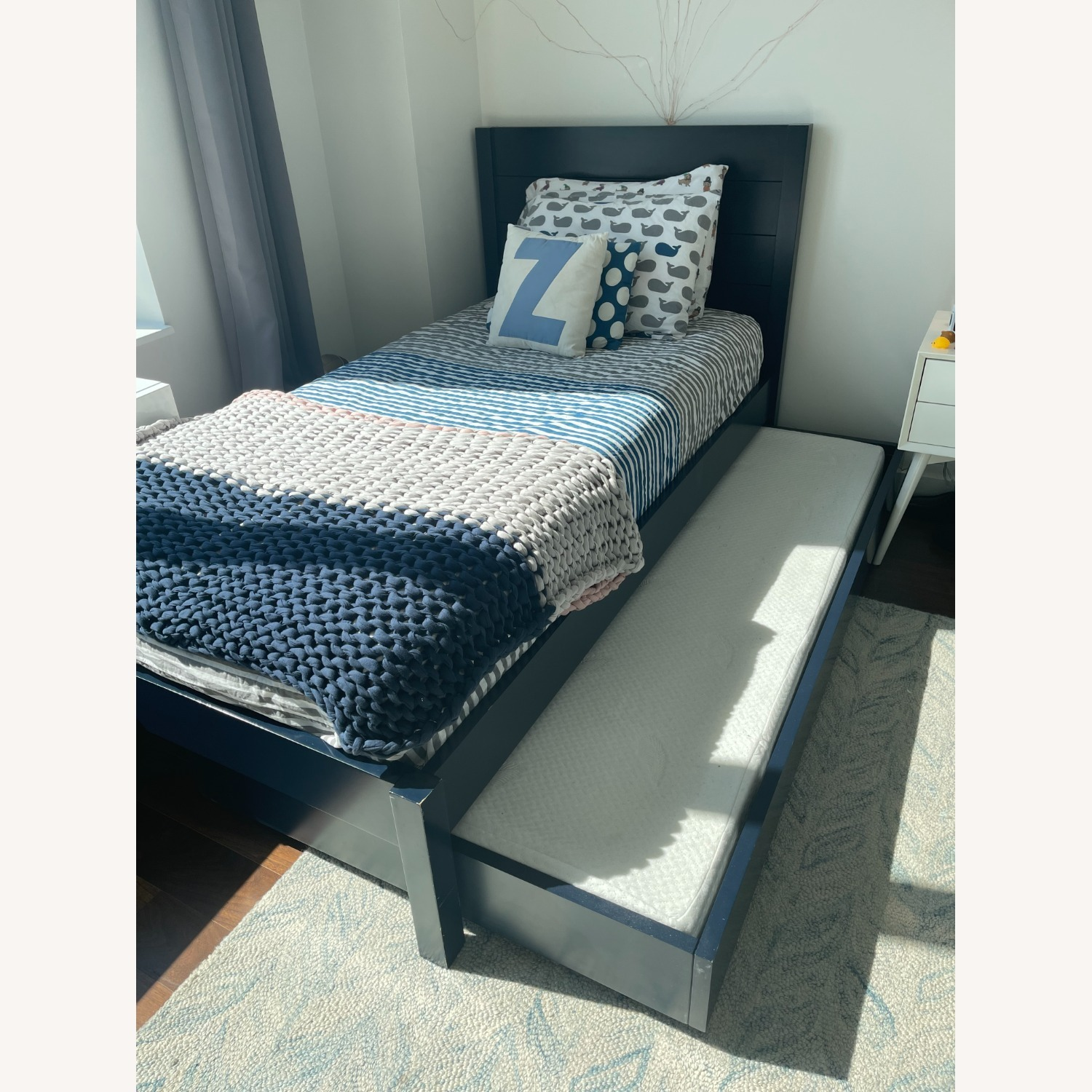 The Land of Nod/Crate Twin Bed + Trundle - image-4