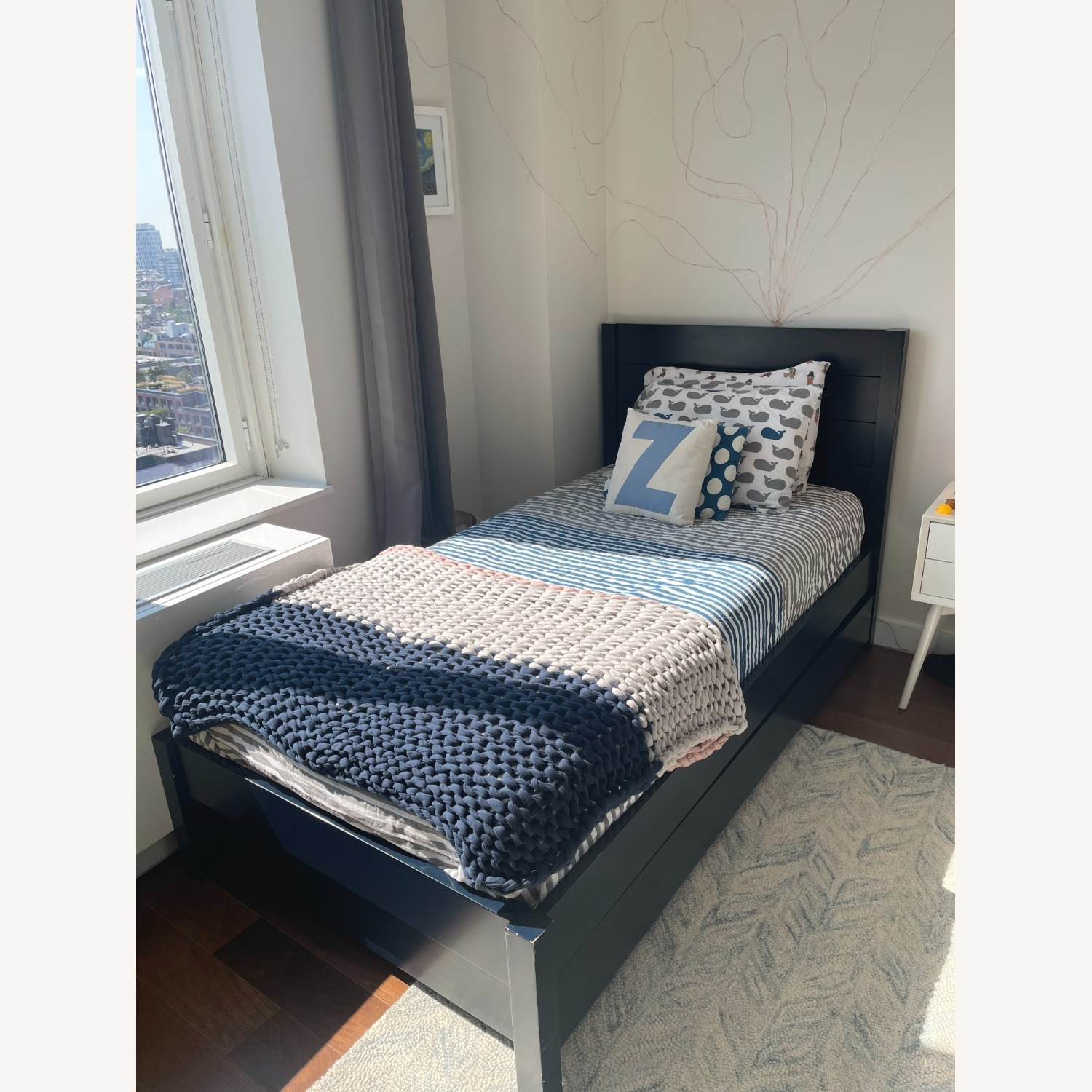 The Land of Nod/Crate Twin Bed + Trundle - image-1