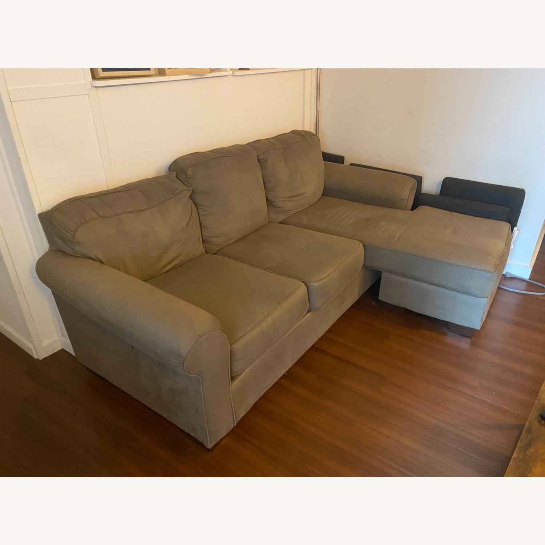 Raymour & Flanigan Raina Chaise Sectional Sofa - image-2