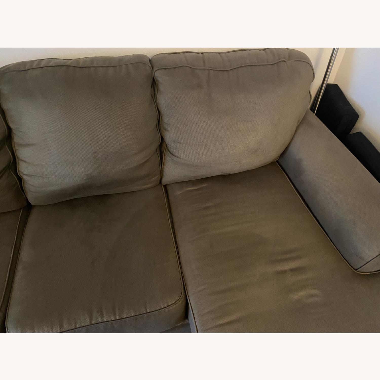 Raymour & Flanigan Raina Chaise Sectional Sofa - image-4