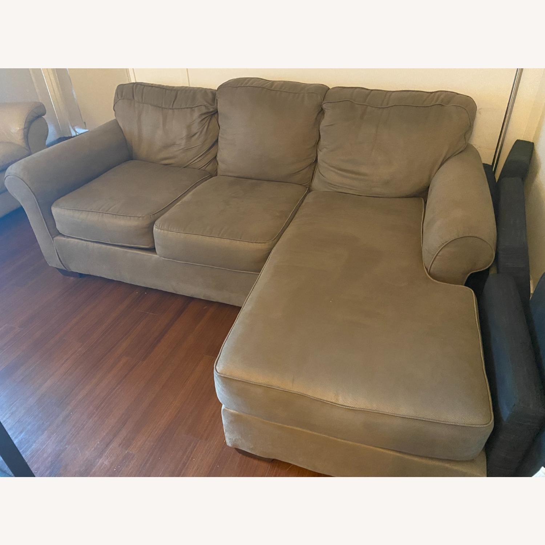 Raymour & Flanigan Raina Chaise Sectional Sofa - image-1