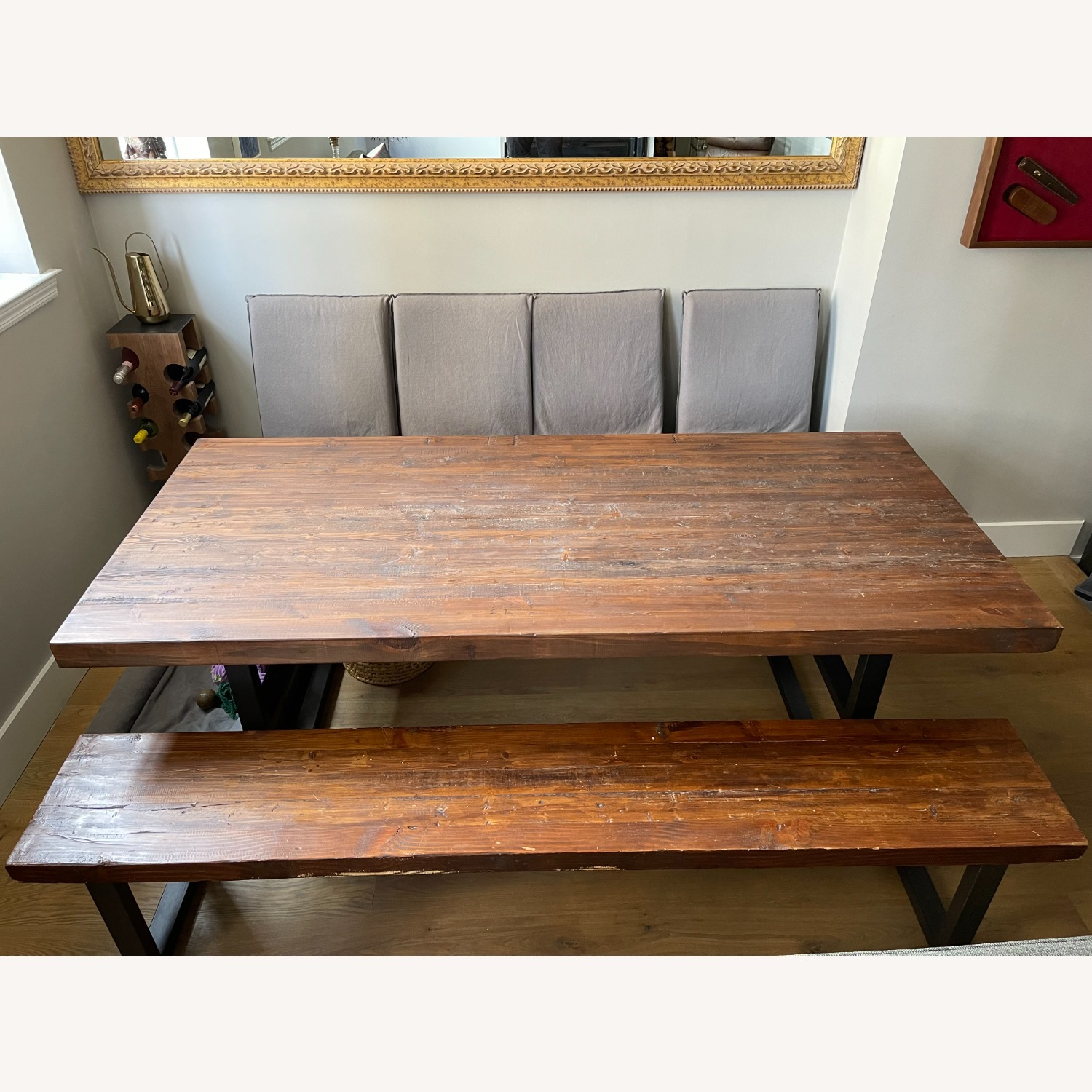 Pottery Barn Griffin Reclaimed Wood Dining Table - image-2