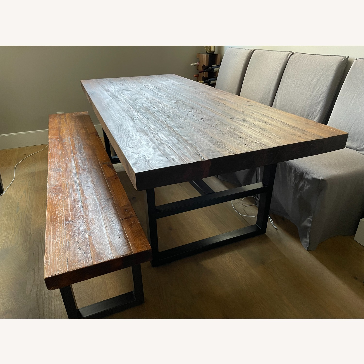 Pottery Barn Griffin Reclaimed Wood Dining Table - image-1