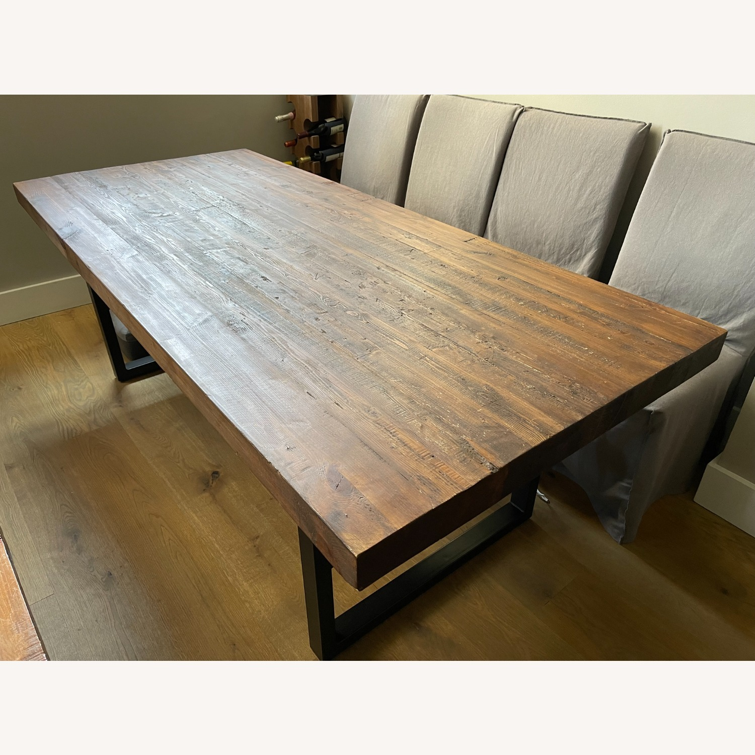 Pottery Barn Griffin Reclaimed Wood Dining Table - image-3