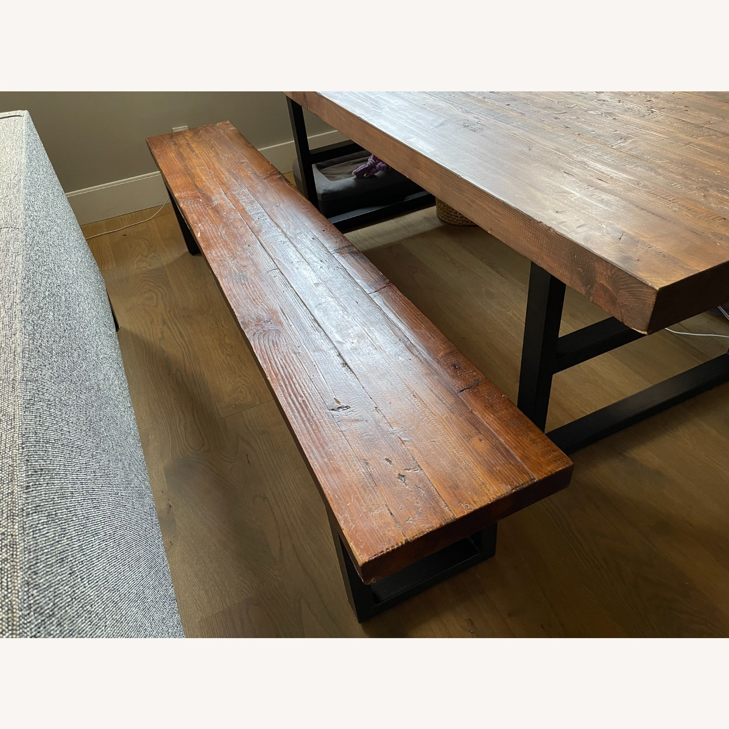 Pottery Barn Griffin Reclaimed Wood Dining Bench - image-3
