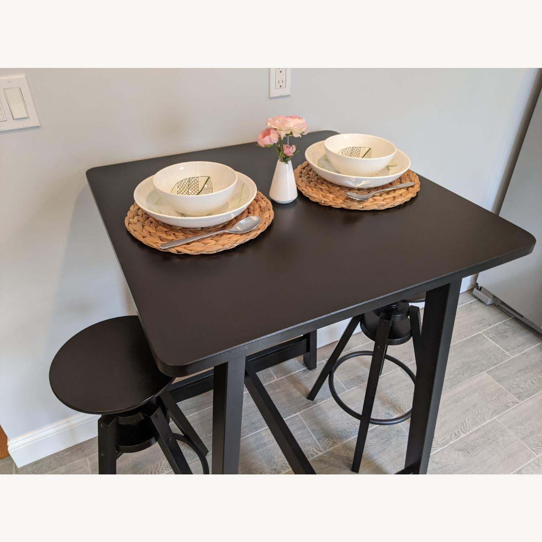 IKEA Black Bar Table - image-0