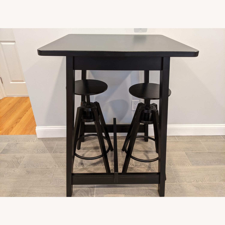 IKEA Black Bar Table - image-7