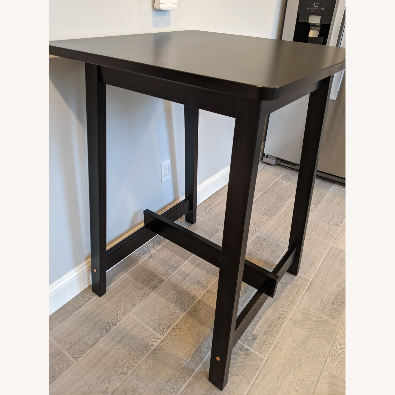 IKEA Black Bar Table - image-2
