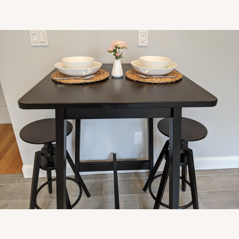 IKEA Black Bar Table - image-13
