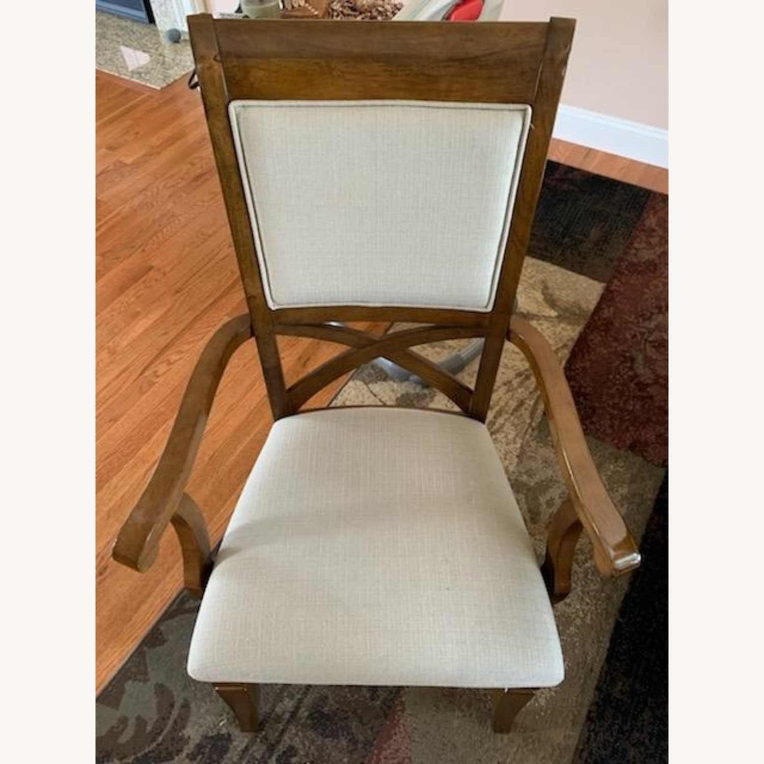 Raymour & Flanigan Dining Table set with 6 chairs - image-4