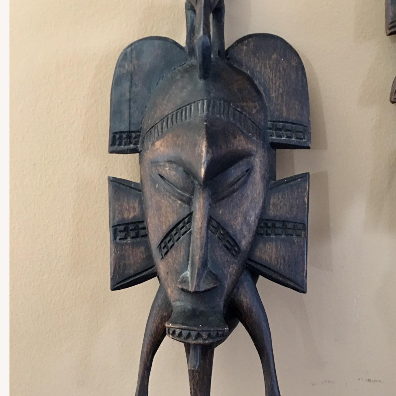 African Hanging Sculpture/ Mask - image-2