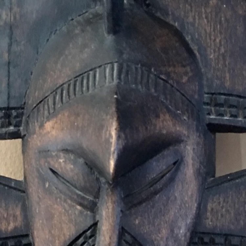 African Hanging Sculpture/ Mask - image-3