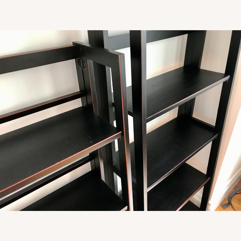 Pier 1 Imports Black Folding Bookcase (Large) - image-3
