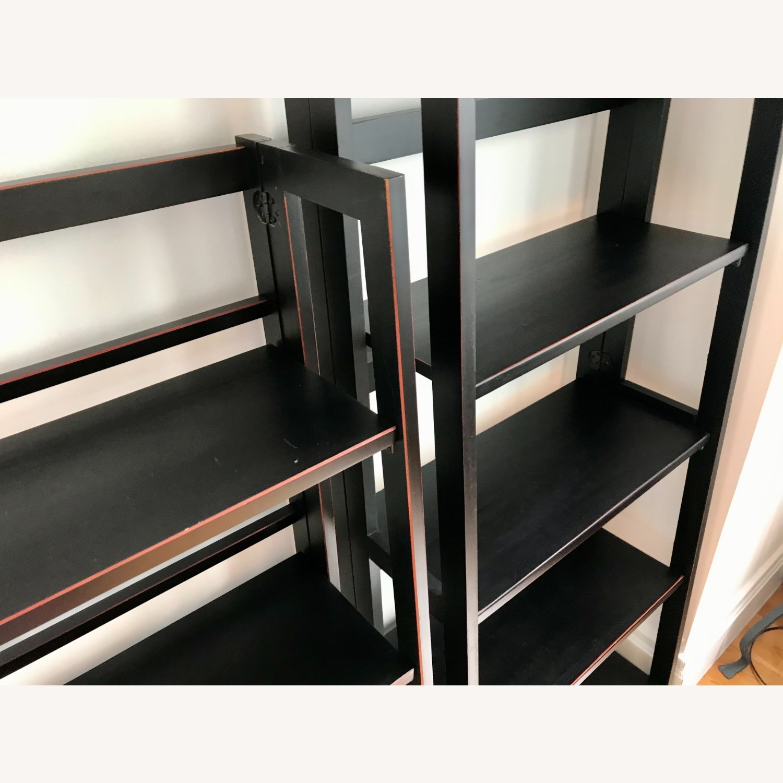 Pier 1 Imports Black Folding Bookcase (Small) - image-3