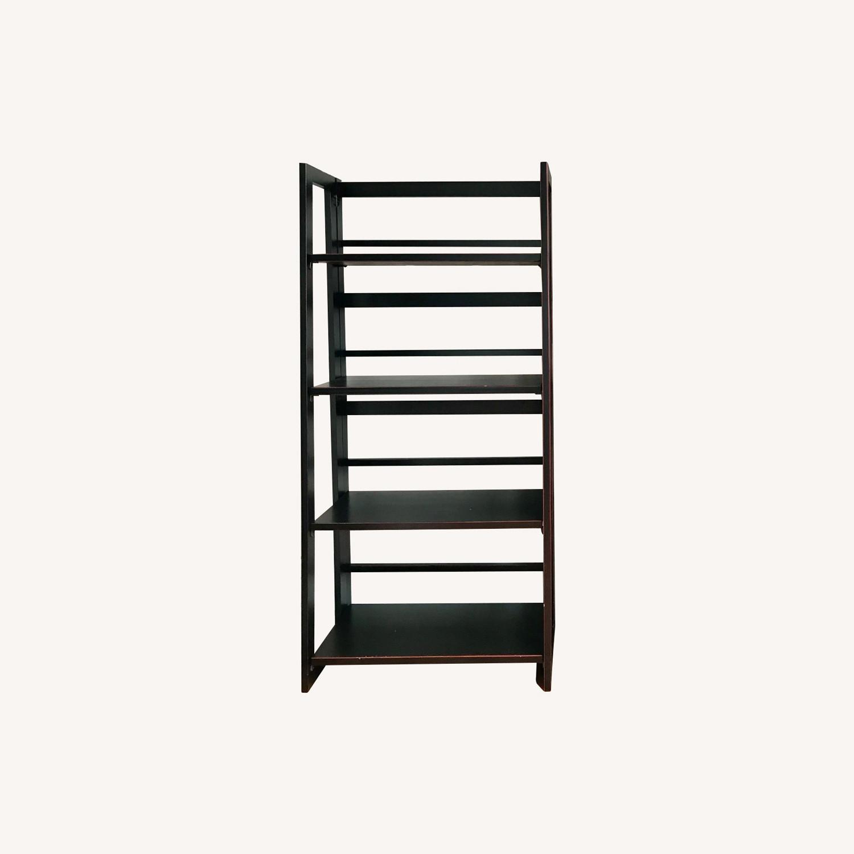 Pier 1 Imports Black Folding Bookcase (Small) - image-0