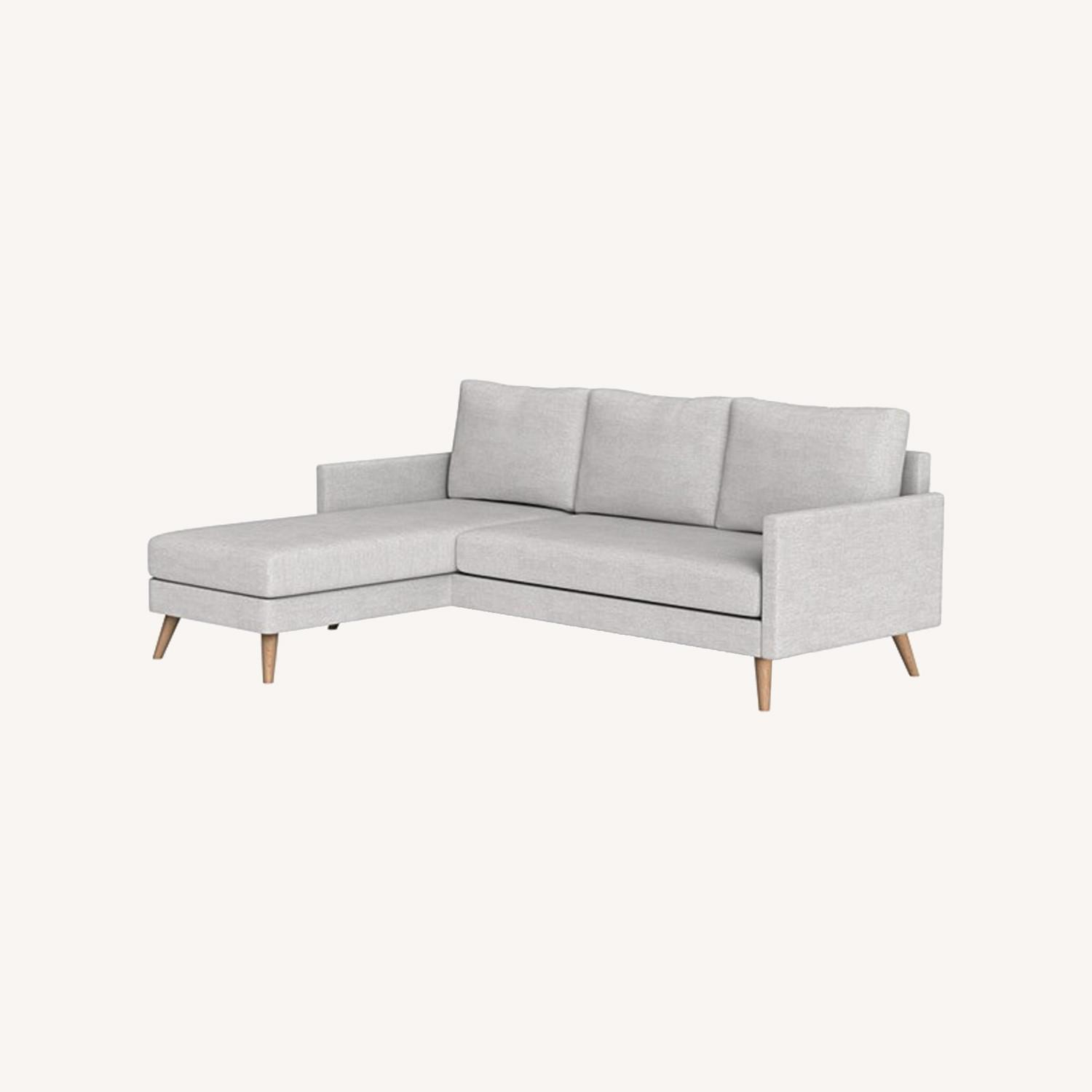 Inside Weather Custom Issa Sectional in Mist - image-0