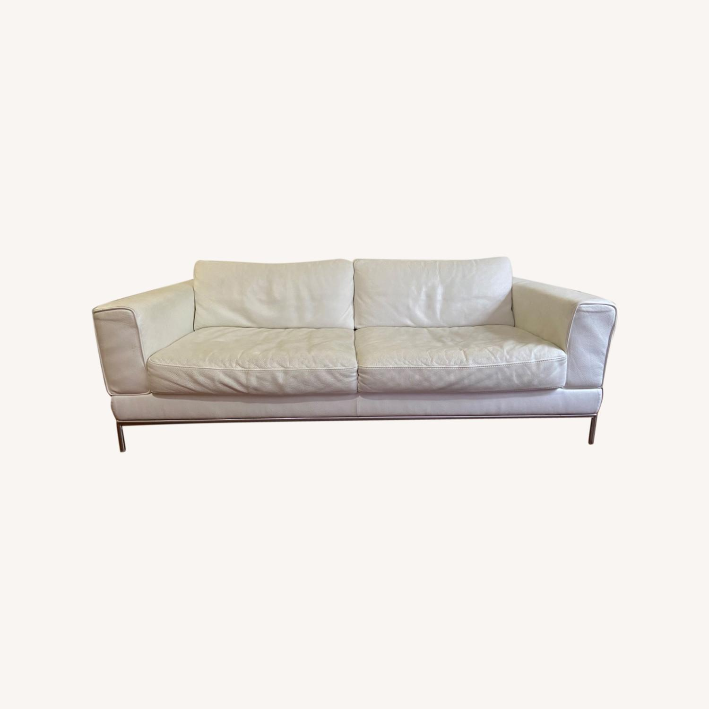 IKEA ARILD 3 Seater Sofa - White - image-0