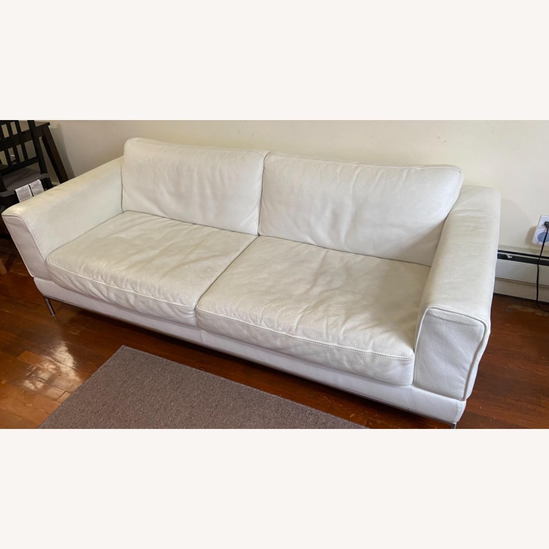IKEA ARILD 3 Seater Sofa - White - image-2